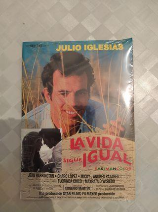 Julio Iglesias DVD la vida sigue igual