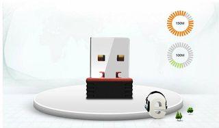 tarjeta de red inalámbrica WiFi 150M USB 2,0 802,