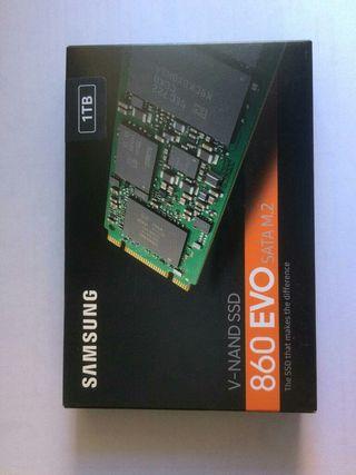 Disco duro SSD M.2 Samsung 860 Evo 1TB Nuevo