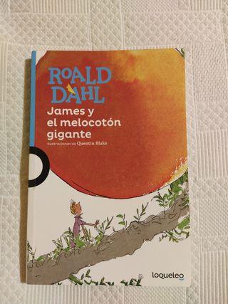 Novela infantil: James y el melocotón gigante