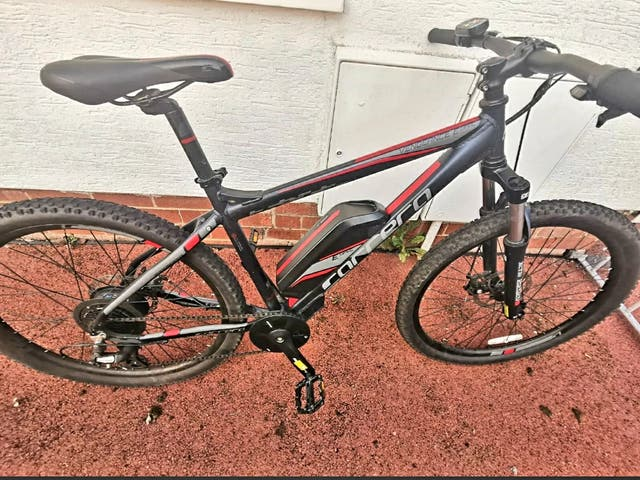 Carrera Vengence E Spec Electric Bike