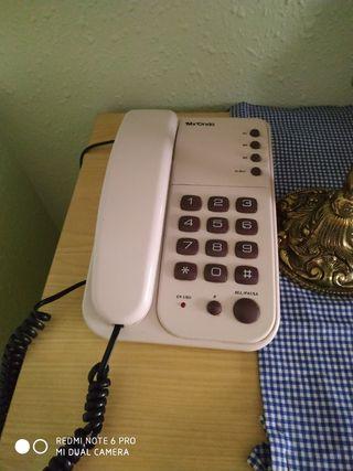 Teléfono de sobremesa.