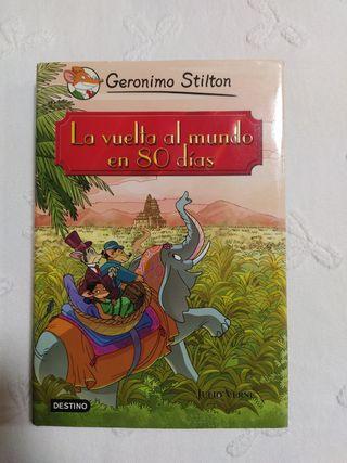 Novela infantil: La vuelta al mundo en 80 días