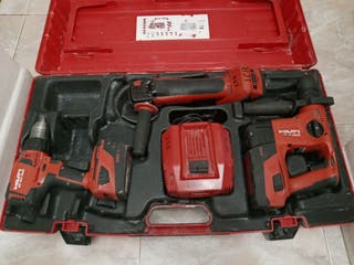 KIT HILTI ( AG 125 A22 T4 A22 SF 6 H A22)