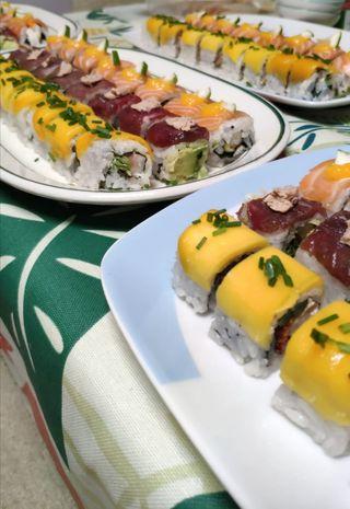 sushi woman