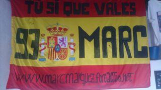 Marc Marquez bandera
