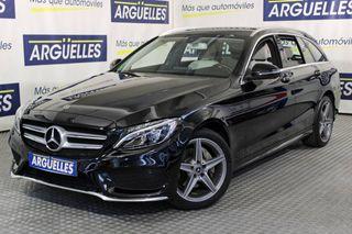 Mercedes-Benz Clase C C 220d Estate AMG Line 170cv 9G-Tronic