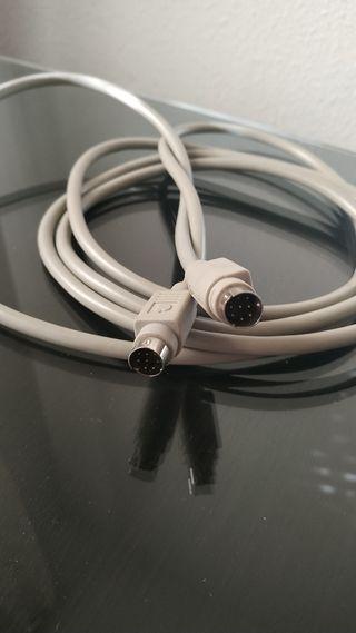 Cable serial original Apple Macintosh, IIc Plus y