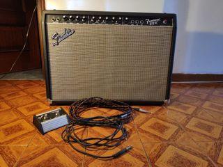 Amplificador guitarra Fender 212r 100w