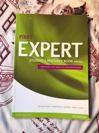 First Expert student's resource book with key
