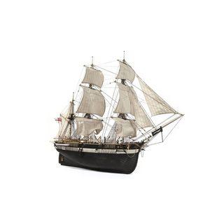 Barco de Madera Occre HMS TERROR 1/75 (con velas)