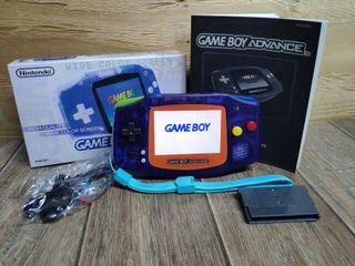 Game boy advance IPS v2 customizada Pokémon