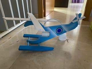 Lámpara de helicóptero infantil