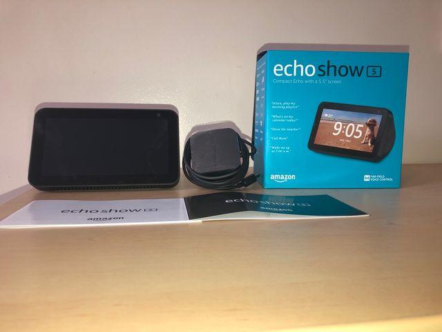 Amazon Alexa echo show 5