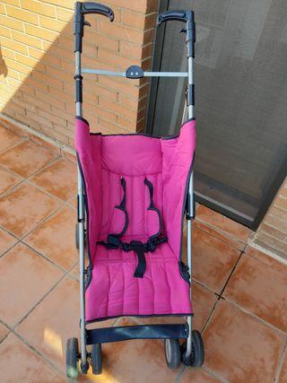 Carro-silla paseo tipo paraguas.