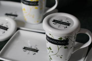 4 Set tazas de te - Montecelio