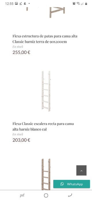 Escalera alta flexa