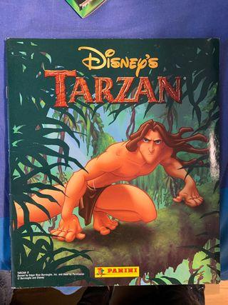 Álbum cromos Tarzan Disney