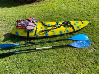 Se vende piragua-kayac de olas