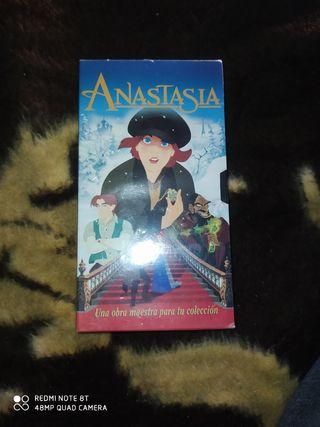 Anastasia Pelicula VHS en su embalaje a estrenar