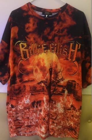 Camiseta Billie Eilish