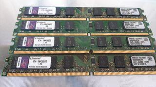memoria ram ddr2 662 mhz