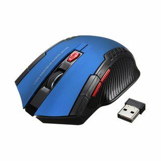 RATON OPTICO GAMING USB 2.0 AZUL