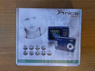 Cámara de fotos digital NiceTech e507
