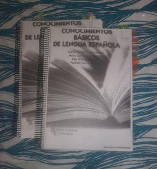 libro de lengua para acceso mayores de 25