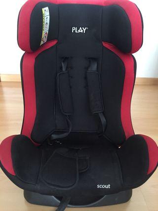 silla de niños coche play