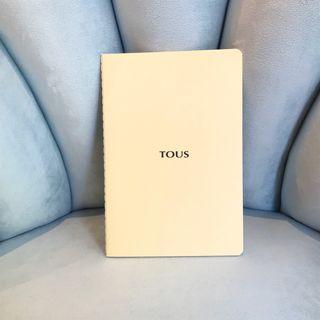 Agenda o cuaderno Tous