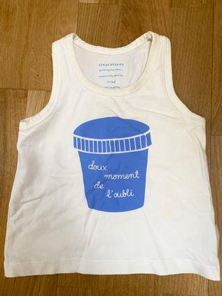 Camiseta sin mangas tinycottons