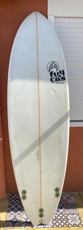 Tabla de Surf Full&Cas + Funda Triboard