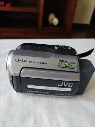cámara de video jvc everio 30 gb