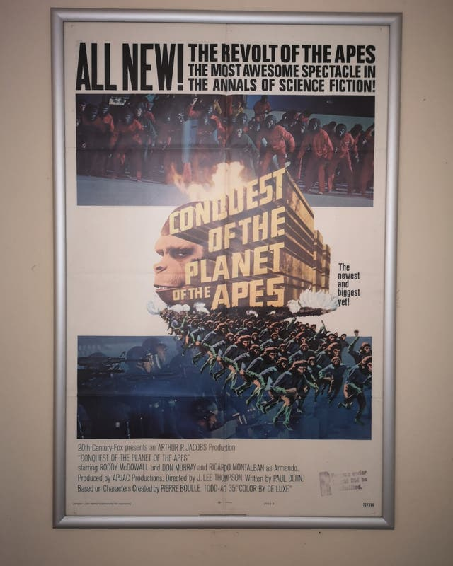 Conquest for the planet of the apes original theat