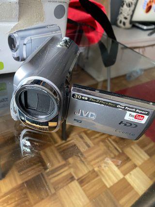 Camara video y fotos JVC