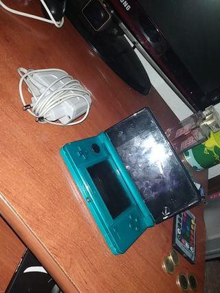 Nintendo 3ds con juegos integrados