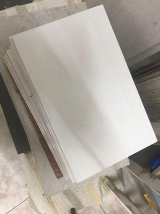 Azulejo blanco liso