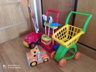 juguetes varios de niñ@s.