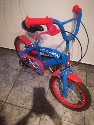 bicicleta Spiderman