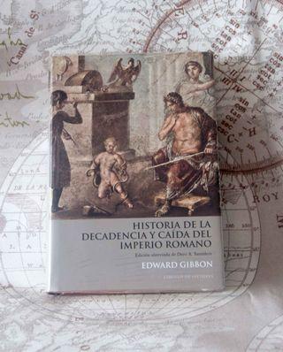 Libro Historia de la decadencia y caída del Imperi