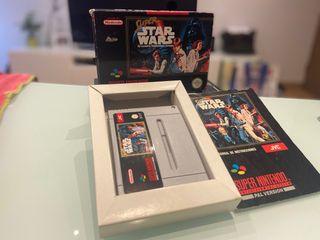 Super Star Wars COMPLETO Super Nintendo SNES PAL