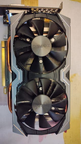 ZOTAC GeForce GTX 1060 AMP! 6GB