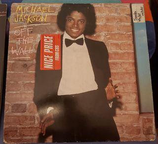 2 discos de vinilo Michael Jackson