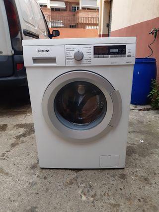 lavadora Siemens de 8 kg IQ500