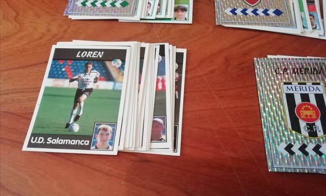 CROMOS LIGA 97/98. LOTE DE 206 CROMOS PANINI