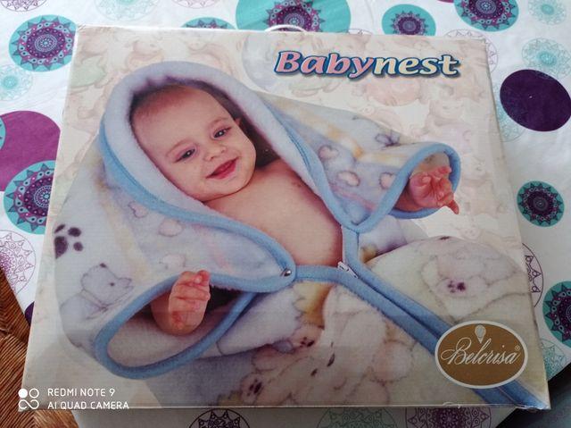 Mantita saco bebe con caja