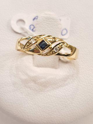anillo oro 18k