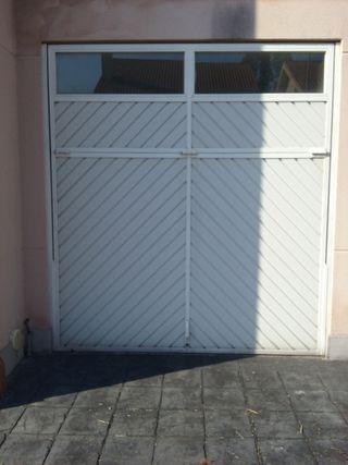 Portal seccional garaje