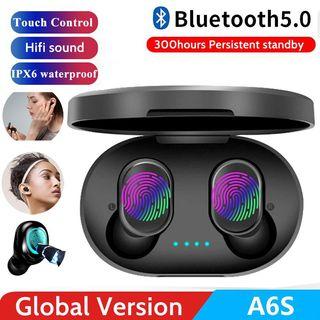 Auriculares inalámbricos Bluetooth 5.0 A6S TWS mip
